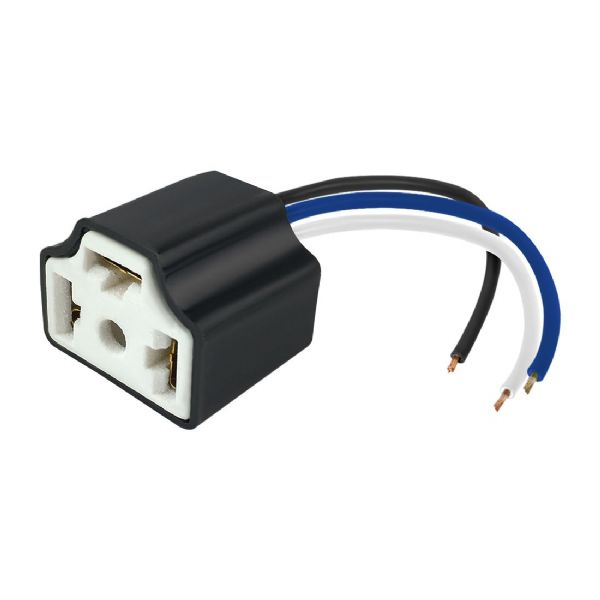 H4 Ceramic Headlight Bulb Connector Plug